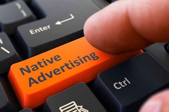 Advertorials Und Native Advertising Enter Tastatur