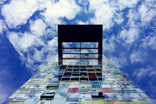 Agentur-Karriere Perspektiven Aussichten Zukunft Wolken Himmel Perspektiven