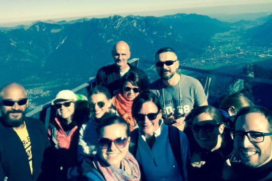 Agenturausflug Incentive Alpspix Selfie