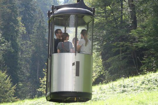 Agenturausflug Garmisch Graseckbahn