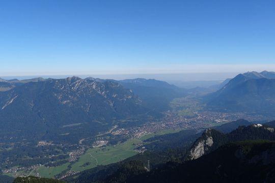 Agenturausflug Garmisch Panorama Bergblick