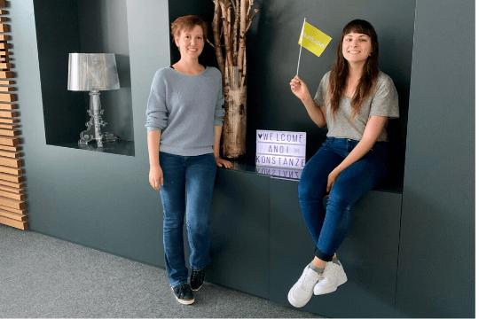 Agenturkarriere Teamzuwachs Mitarbeiterinnen Kolleginnen