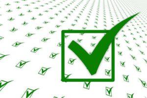 Agentursuche Checkliste Haken