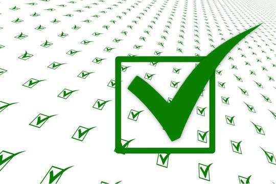 Flutlicht Agentursuche Briefing Checkliste Haken