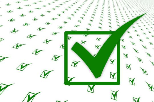 LinkedIn Fokusseiten Checkliste Haken Abhaken