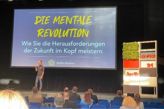 mentale Revolution tag der Industriekommunikation