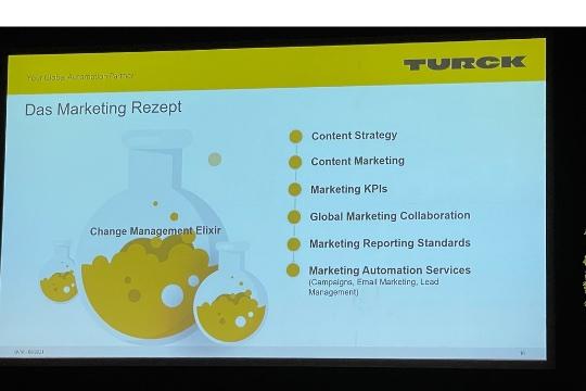 marketing Präsentation tag der Industriekommunikation