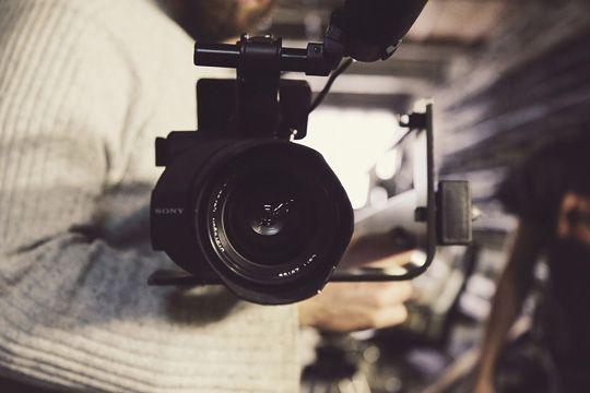 Flutlicht Bewegtbild Kommunikation Video Kamera Aufnahme