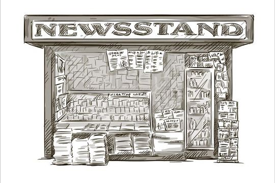 Blendle News Kiosk