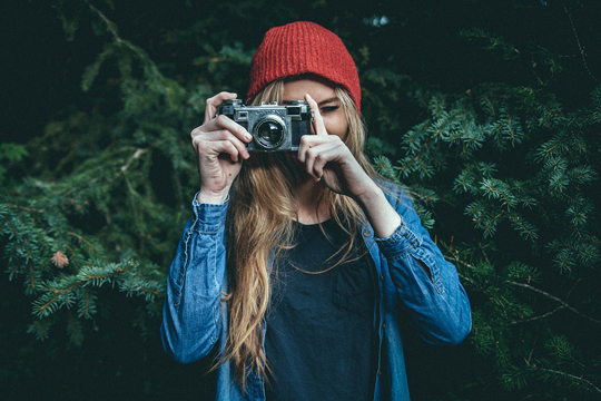 Blogger Marketing Hipster Fotografin