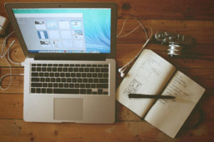Blogger Marketing Home Office