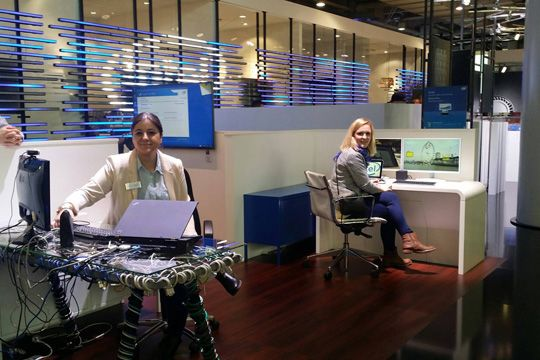 Cebit 2015 Flutlicht Office Of The Future