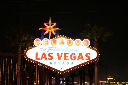 CES Las Vegas Schild