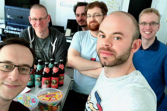 C´t Redaktion Team Selfie