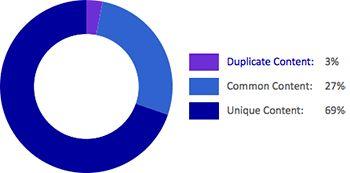 Duplicate Content Siteliner