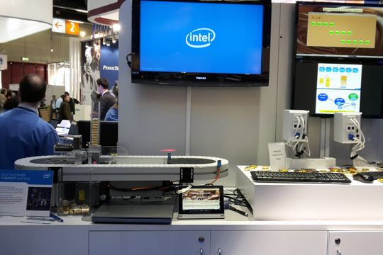 Embedded World Intel Schokoladenfabrik