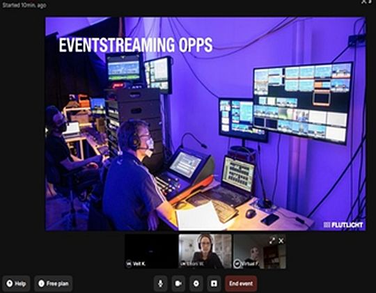 flutlicht digital praxistipps virtuelle events livestorm oberfläche