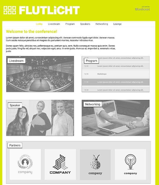 flutlicht digital praxistipps virtuelle events techcast oberfläche