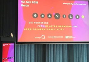 Gravity Konferenz Buehne Berlin Employer Branding