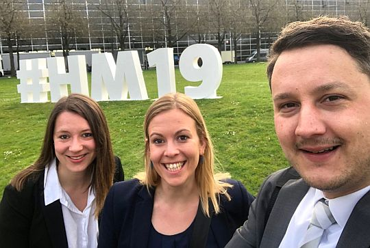 flutlicht team hannover messe 2019 industrieschau logo