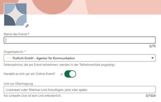 Flutlicht Linkedin Events Erstellen2