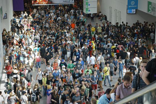 Gamescom Köln Besucher