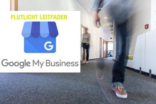 Googlemybusiness Leitfaden Flutlicht gentur Menschen GMB Logo