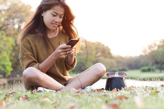 Hörfunk-Kommunikation Smartphone Internet