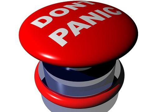 Interviews auf Messen Angst Panikknopf