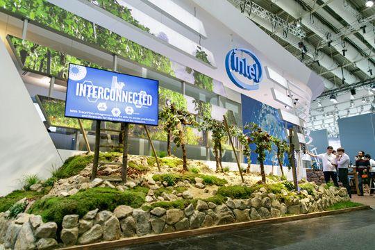 Interviews Auf Messen Intel Smart Vineyard Weinberg