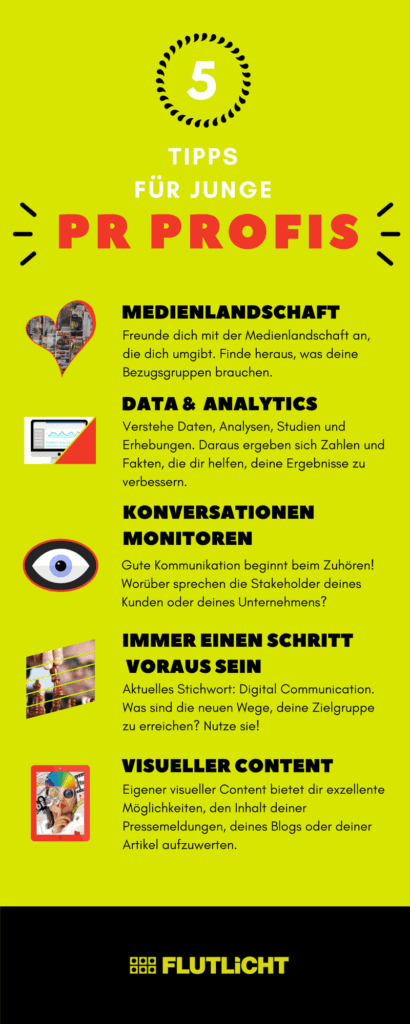 PR Profis Tipps Infografik