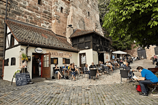 Kneipen in Nürnberg, Wanderer, Bieramt