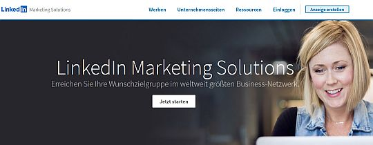 Leadgenerierung Linkedin Marketing Solutions