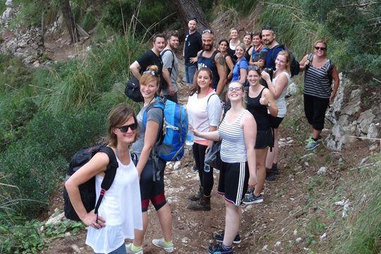Mallorca Agenturevent Flutlicht Wanderung