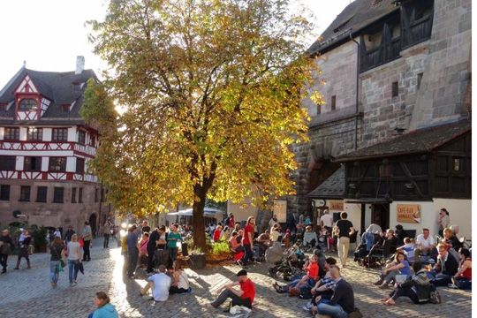 Nürnberg Cafe Wanderer