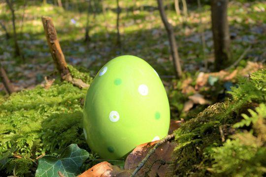 Oster-Tipps Nürnberg Osterei Natur