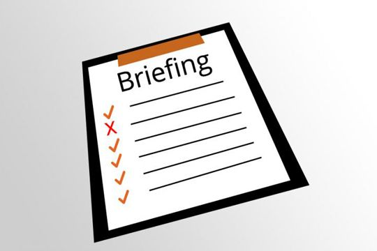 PR Bilder Briefing Checkliste