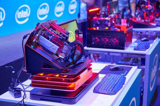 PR Bilder Intel Gamescom