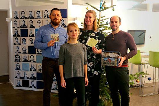 Pr Flutlicht Redaktionsaustausch Trainee schalk and friends
