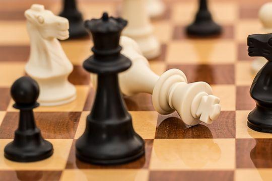 PR für Start-ups Schach Schachbrett