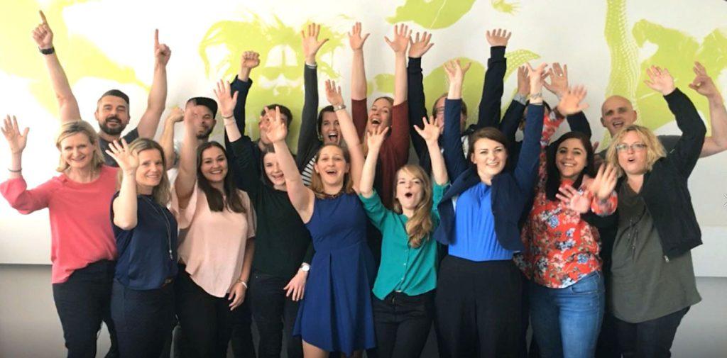Pr Ranking 2017 Flutlicht Team Jubel Freude