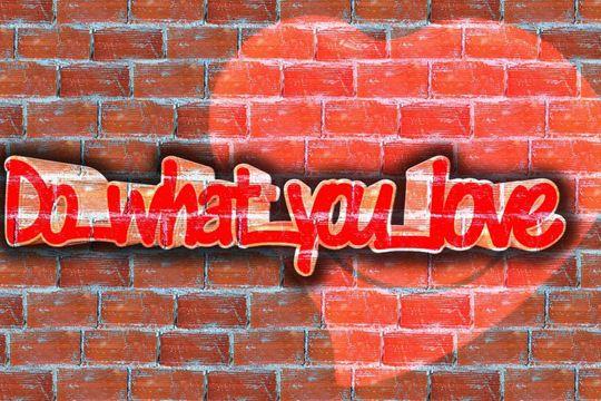 PR-Traumjob Grafitti Love