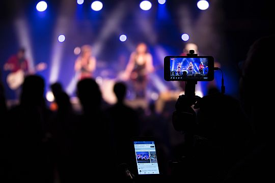 Pressekonferenzen Digitalisierung Streaming