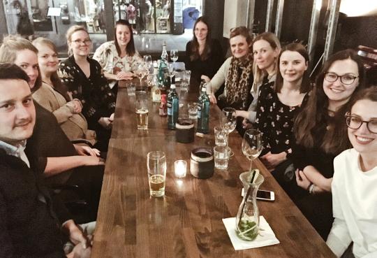 Seo Experten Sabrina Schalk And Friends Bei Flutlicht Dinner