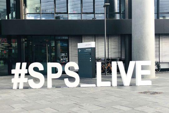 Sps Ipc Drives Nürnberg Messe Eingang