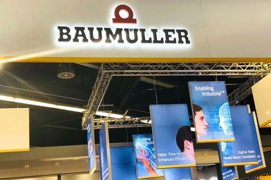 Sps Ipc Drives Nürnberg Messestand Baumüller
