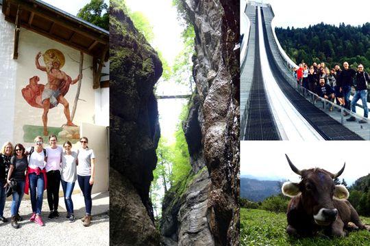 Tolle Kollegen Event Garmisch Firmenincentive Teamgeist Sprungschanze