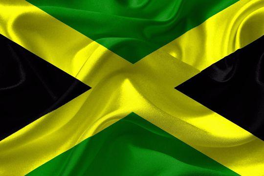 Urlaubslektüre Jamaika Flagge