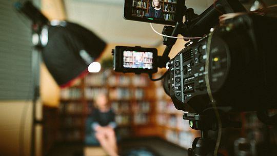 Video Content Creation Kamera Dreh Protagonistin