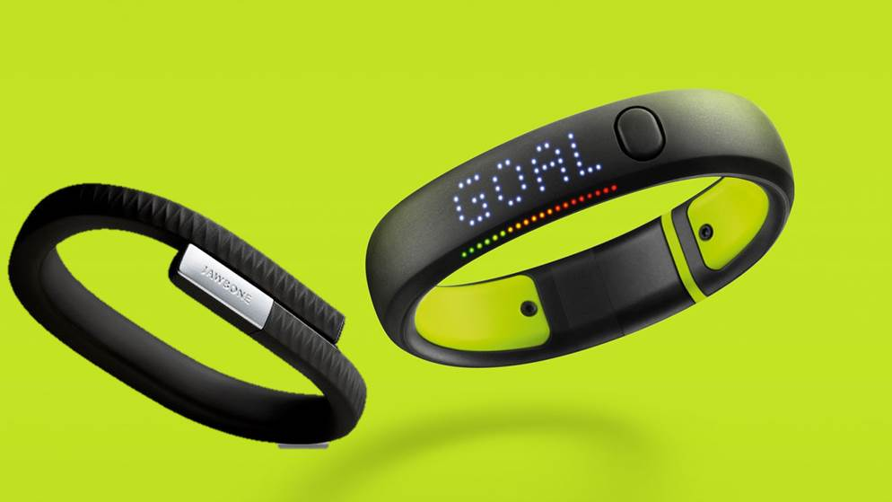 Nike Fuelband, Jawbone Up